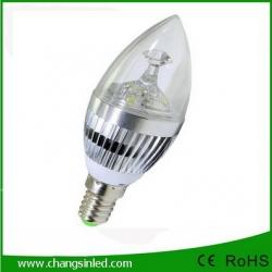 หลอดไฟ LED E14 Candle Bulb Light 3w Type B