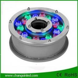 โคมไฟ LED ประดับใต้น้ำพุ 18w RGB