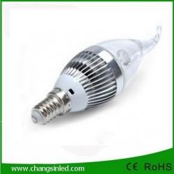 หลอดไฟ LED E14 Candle Bulb Light 3w Type D