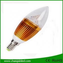 หลอดไฟ LED E14 Candle Bulb Light 3w Type A