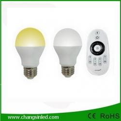 หลอดไฟ LED ไร้สาย Wifi Bulb 6Wx2 เปลี่ยนเฉดแสงโทนขาวเป็นโทนวอร์มไวท์ +Wifi Remote