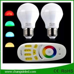 หลอดไฟ LED ไร้สาย Mi Light Wifi Bulb RGB 6Wx2 เปลี่ยนสีได้ +Wifi Remote