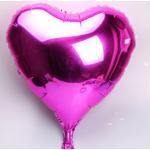 ลูกโป่งฟอยล์-หัวใจสีชมพู