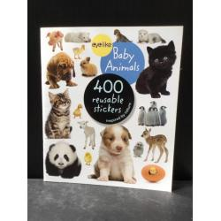 Baby Animals 400 Reusable Sticker