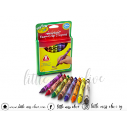 Crayola Triangular Crayons 8 counts