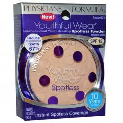 Physician's Formula Youthful Wear Cosmeceutical Youth-Boosting Spotless Powder SPF 15 Translucent