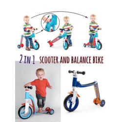 scooter and balance bike