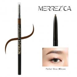 Merrez'ca Perfect Brow Pencil Size 1.5 mm. #Brown