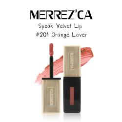 Merrez'Ca Speak Velvet Lip #201 Orange Love
