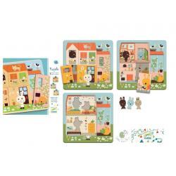 Djeco Puzzle Chez Carrot