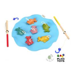 เกมส์ตกปลา จาก Plan Toys