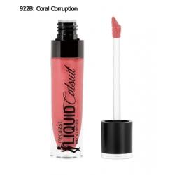 Wet N Wild MegaLast Liquid Catsuit Matte Lipstick #Coral Corruption - ลิปลิควีคเนื้อแมท