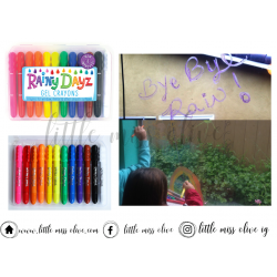 Rainy Days Gel Crayons สีระบายกระจก