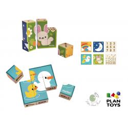 Puzzle Cubes จาก Plan Toys
