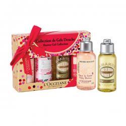 เจลอาบน้ำ L'occitane En Provence Shower Gel Collection (75 ml x 4 items)
