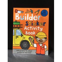 ฺBuilding Sticker Activity Book