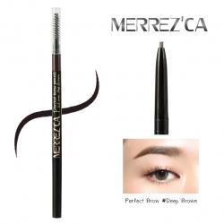 Merrez'ca Perfect Brow Pencil Size 1.5 mm. #Deep Brown
