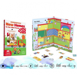 Play & Learn Activity Book - New Homes For Our Little Friends