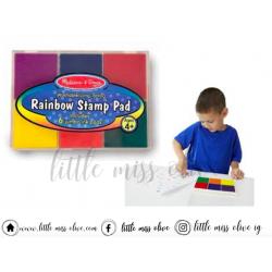 Melissa and Doug Rainbow Stamp Pad