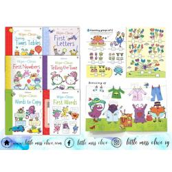 Wipe & Clean Activity Books(6 books)