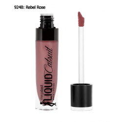 Wet N Wild MegaLast Liquid Catsuit Matte Lipstick #Rebel Rose - ลิปลิควีคเนื้อแมท