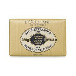 Loccitane Shea Butter Extra Gentle Soap - Milk 250g สบู่ทำความสะอาดผิวกาย