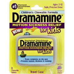 Dermamine Motion Sickness Relief for Kids