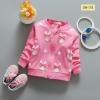 เสื้อกันหนาวสีชมพู ไซส์ S,M,L,XL (ขนาดเท่าไซส์ 70,80,90,100)