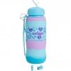 SMO05 สมิเกอร์ ขวดน้ำ ซิลิโคน Smiggle Says Silicone Roll Bottle