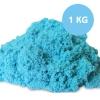 PS138 ทรายนิ่ม Soft Sand Play Sand ทราย สีฟ้า หนัก 1000 กรัม (สินค้ามี มอก)