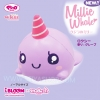 I424 สกุชชี่ I-Bloom squishy Millie Roxie the Whale ขนาด 12 cm (Super Soft)ลิขสิทธิ์แท้ ญี่ปุ่น