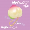 I423 I-Bloom squishy (Peach keychain) Yellow สีเหลือง ลิขสิทธิ์แท้ ญี่ปุ่น
