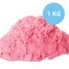 PS140 ทรายนิ่ม Soft Sand Play Sand ทราย สีชมพู หนัก 1000 กรัม (สินค้ามี มอก)