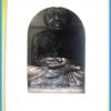 หลวงพ่อทวด วัดช้างให้ พระบูชา 1.5 นิ้ว ตั้งหน้ารถ ปี 55 เนื้อทองรมมันปู พร้อมกล่องเดิมๆจากวัด