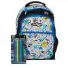 SMB028 กระเป๋าเป้ สมิกเกิ้ล Smiggle Diy Lets Go Backpack