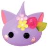 HXL014 น้องแก้ม Hoppe chan Size XL ซีรีย์ แมว สีม่วง