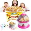 J024 Popcorn Maker เครื่องทำ ป๊อบคอร์นทำได้จริง พร้อมเสียงดนตรี (ไม่มีวัตถุดิบ) -สีชมพู