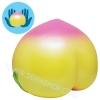 I401 สกุชชี่ Super Jumbo Peach By Punimaru ขนาด 20 cm (Super Soft) ลิขสิทธิ์แท้