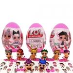 LO054 L.O.L Egg Surprise Sister Glitter แพ๊ค 3 ลูก (คละแบบ)