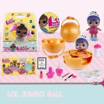 LO075 L.O.L ตุ๊กตา Surprise Jumbo Ball พร้อมชุดแต่งหน้า