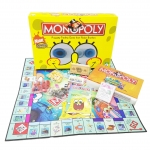 BO176 Monopoly เกมเศรษฐี เกมกระดาน โมโนโพลี่ เวอร์ชั่น spongebob