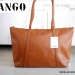 กระเป๋า MANGO SAFFIANO EFFECT SHOPPING BAG ซิป