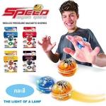 ZZ01 ของเล่นฮิต Diggin Spinos Magneto บอลหมุนพลังแม่เหล็ก