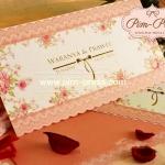 การ์ดแต่งงานพิมพ์สีสองพับ(92421-92426)
