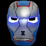 TMI02 หน้ากาก Iron Man มีไฟ ของเล่น ซุปเปอร์ฮีโร่ (ไอรอนแมน)