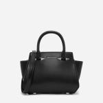 กระเป๋า CHARLES & KEITH METALLIC DETAIL TRAPEZE BAG CK2-50780417 หนังเรียบ
