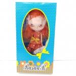 BR008 ตุ๊กตา บลายธ์ Blythe คละแบบ 1 เซ็ท ผมสีส้ม