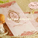 การ์ดแต่งงานเคทอง/เงิน(9-0121,9-0126)