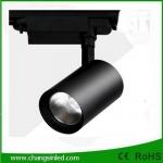 โคมไฟ COB LED Track Light ทรงกระบอก 10W โคมสีดำ