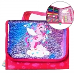 SMP053 Gift Set สมิเกอร์ smiggle UNICORN Glitter Handbag Kit
